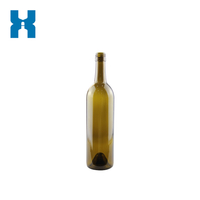 750ml Wine Bottle Antique Green