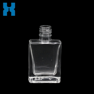 Flat 10ml Nail Polish Glass Bottle