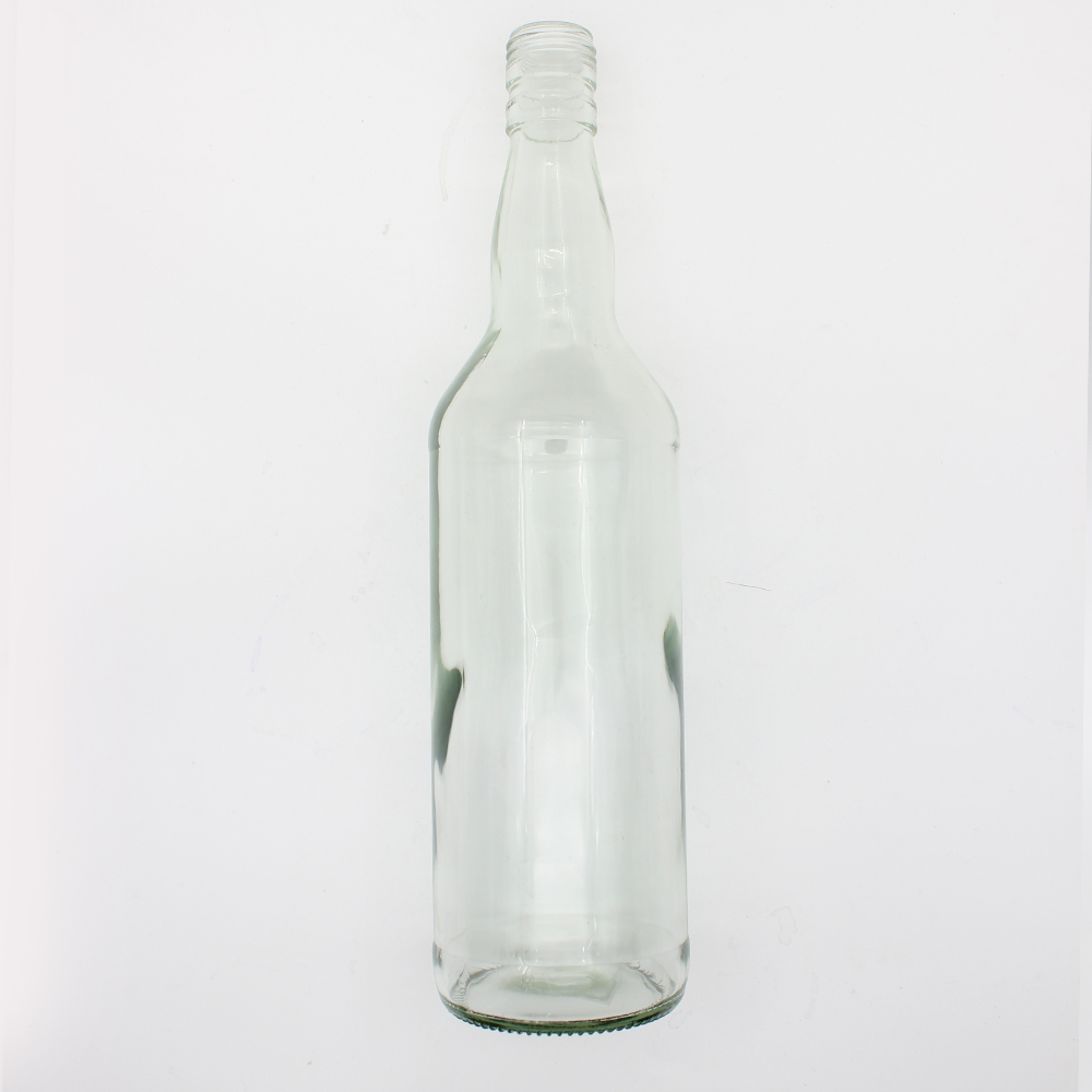 Hot Sale 700ml Clear Whiskey Glass Bottle