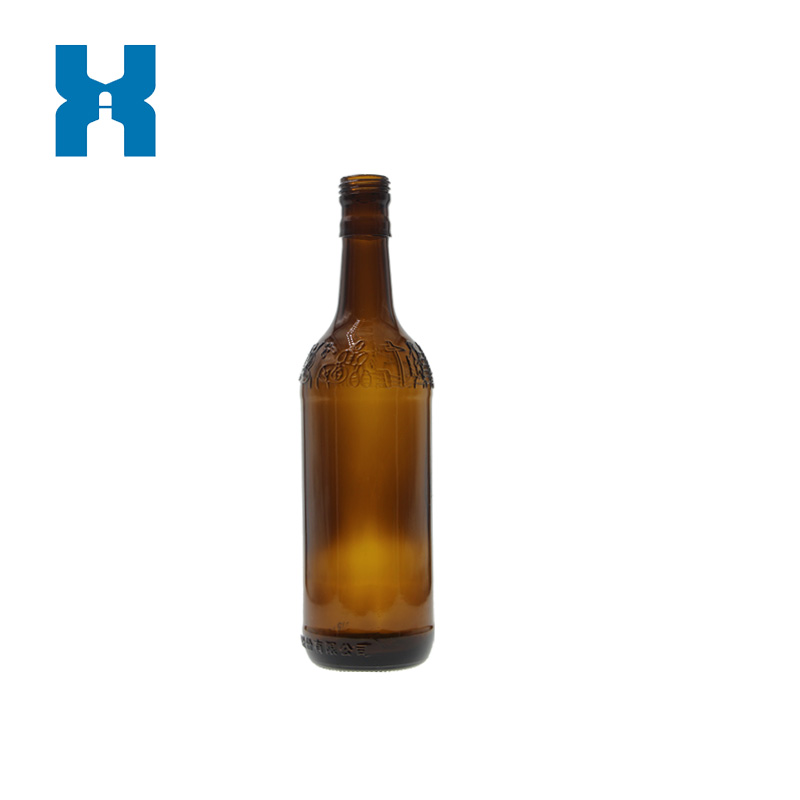 500ml Amber Glass Bottle for Alcohol